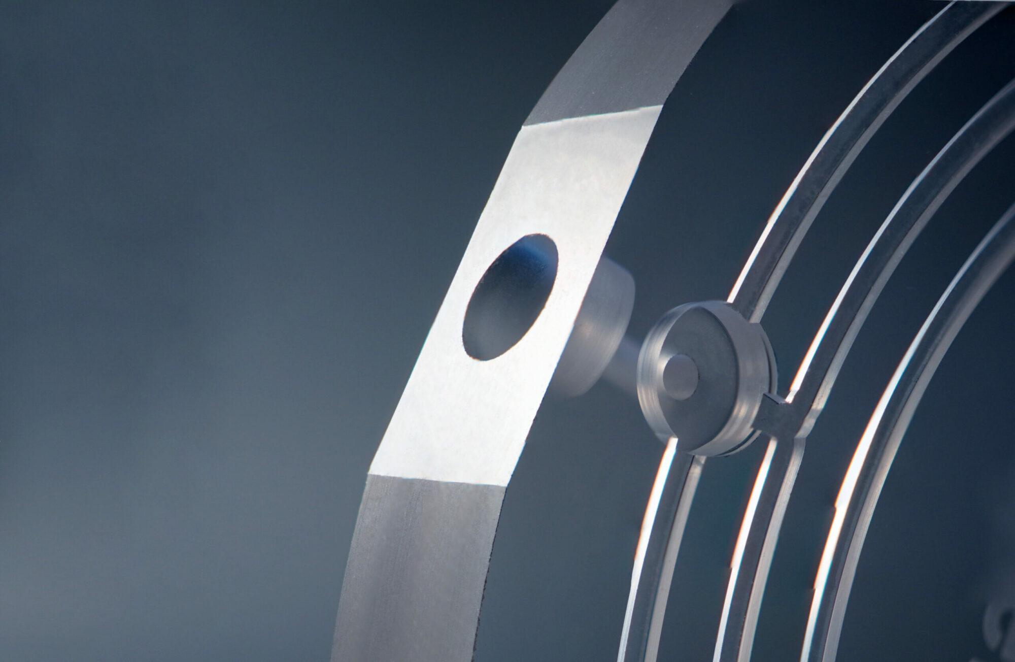 Integrierte Lichteinkoppelstellen in einem Bauteil aus Glas
